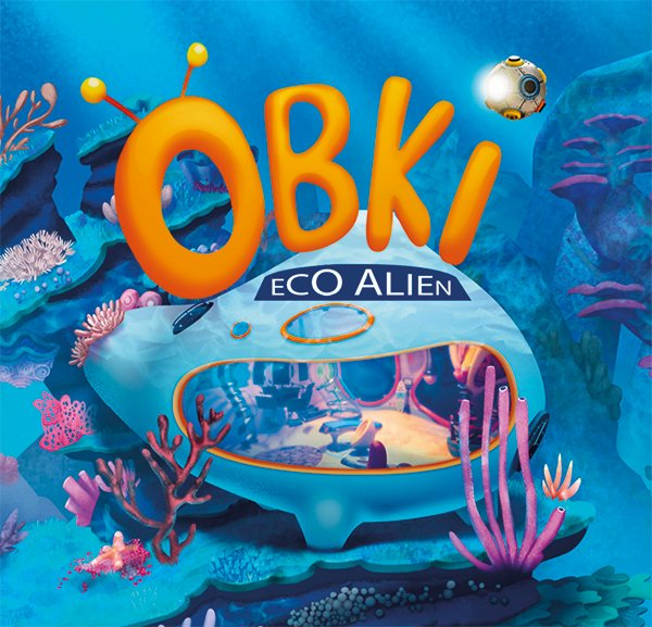 Obki eco alien underwater ship from the animated Sky TV series